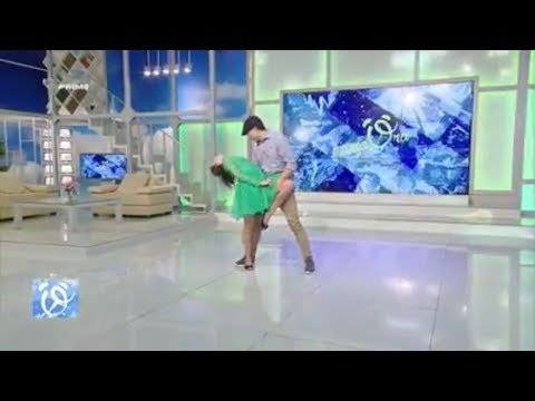 Prima Ora -Will and Irina Performance- Moldova Morning Television Show (Just Friends Dance Academy)