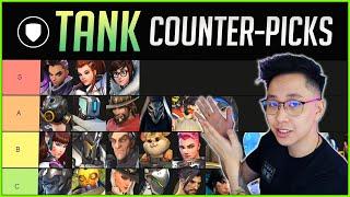 TANK COUNTERS vs ËVERY HERO (Overwatch Tier List)