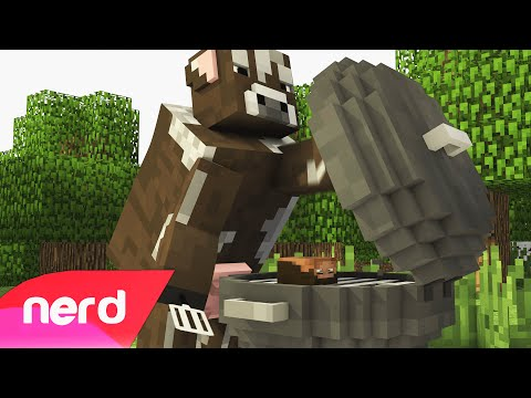 Minecraft Song | The Cow Song | #NerdOut!