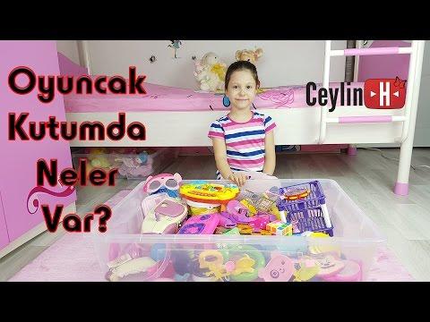 What's in my toy box? Oyuncak kutumda neler var? Ne yok ki? :) All my daily toys ! :)