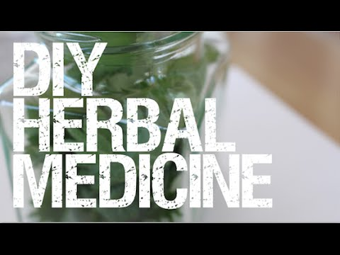 Herbal Medicine - How to make your own Herbal Tincture (part 2)