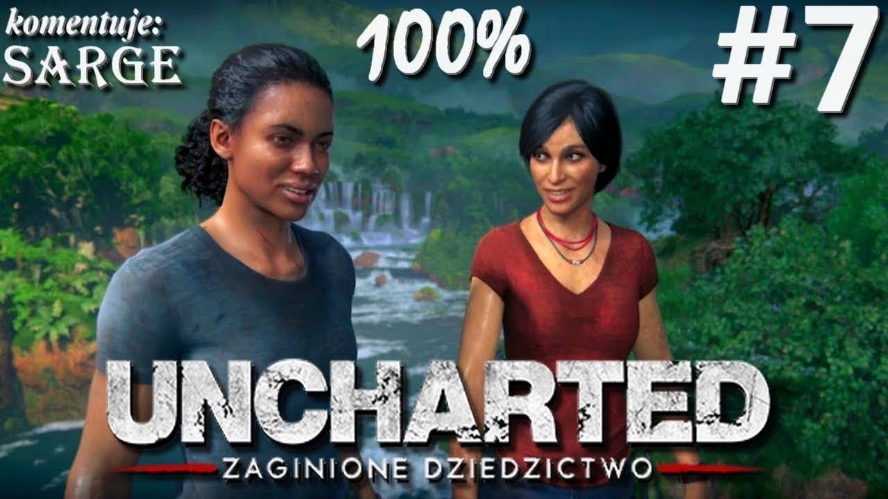 Zagrajmy w Uncharted: Zaginione Dziedzictwo (100%) odc. 7 – Fort Ganeśi | 1440p