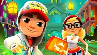 SUBWAY SURFERS GAMEPLAY HD 🎃 NEW ORLEANS - HALOWEEN 2018 ✔ JAKE AND TRICKY+65 MYSTERY BOXES OPENING