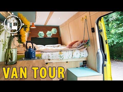Adorable Campervan Conversion for Adventure in Great Britain