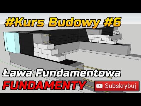 Kurs budowy #6 - FUNDAMENTY - Ława Fundamentowa