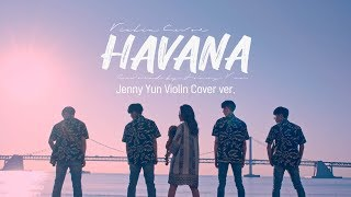 HAVANA Dance-Violin Cover (Busan,Ulsan Haeparang Trail) | Jenny Yun
