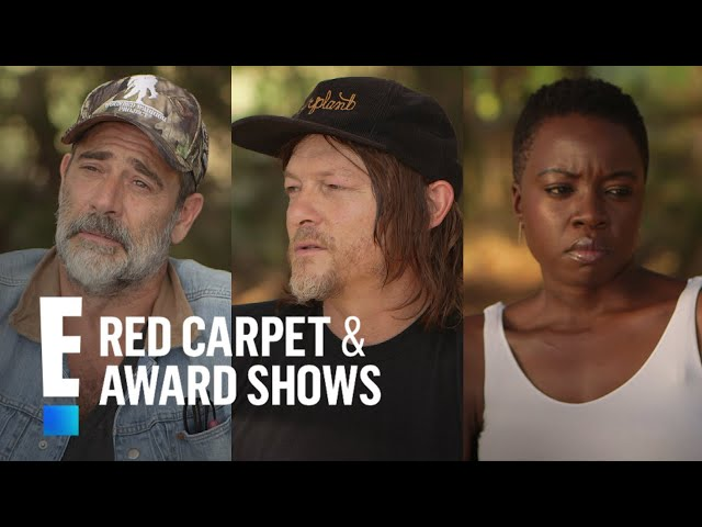 TWD Stars Weigh in on Andrew Lincolns Exit From AMC Series | E! Red Carpet & Award Shows