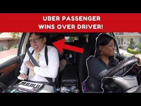 Nerdy Uber Passenger Wins Over Driver!!! ft Phortissimo