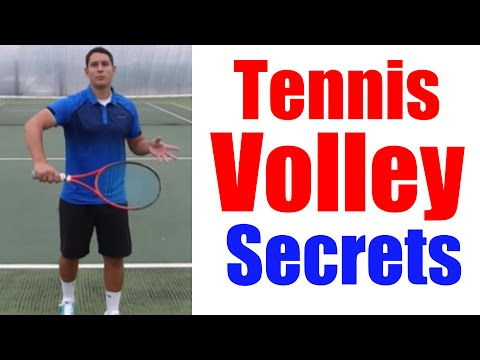 How To Volley | Tennis Volley Technique Secrets Revealed