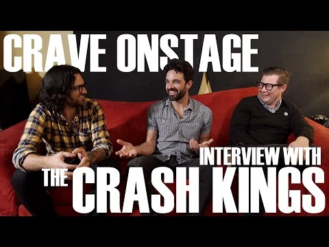 CraveOnstage - Interview with The Crash Kings at BedrockLA