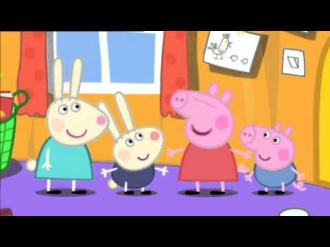 peppa pig rebecca rabbit