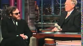 Joaquin Phoenix on  Letterman 2017 Video
