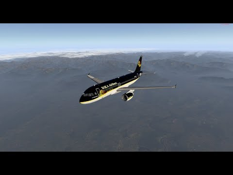X-Plane 11 | IVAO | Welcome by Wika Airlines - First Flight Düsseldorf to Nice