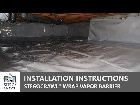 Crawl Space Vapor Barrier Installation - A Step by Step Guide