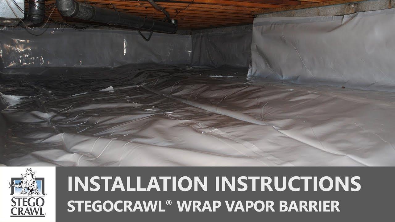 Crawl E Vapor Barrier Installation A Step By Guide