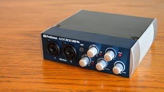 PreSonus Audiobox USB 96 Review