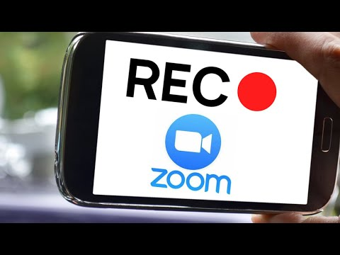 HOW TO RECORD ZOOM MEET ON ANDROID MOBILE