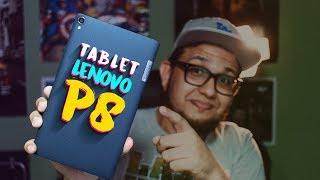 Tablet LENOVO P8 - portátil e potente!