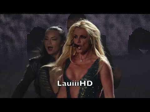 Britney Spears - Work Bitch/Womanizer/Break The Ice/POM - Live in Las Vegas 04.11.2017 FULL HD