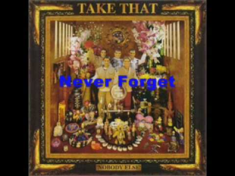 NEVER FORGET (KARAOKE) - Take That