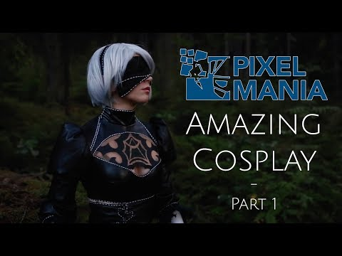 PIXELMANIA 2018 - AMAZING COSPLAY - PART 1 [CMV]