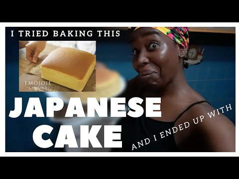 Trying To Make Japanese Cotton Sponge Cake  | Jiggly Fluffy Cake Recipe  #WithMe