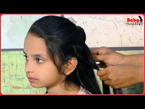 Baby hairstyle for long hair | Super Sweet Baby Girl Hairstyles | Baby Hairstyles #6