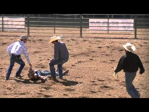 UHSRA Bareback & Saddle Bronc at the Juab Rodeo in Nephi, Utah, April 26, 1