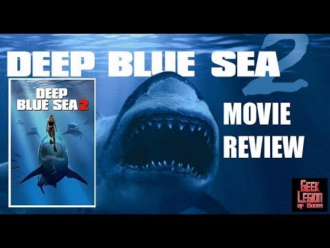 DEEP BLUE SEA 2 ( 2018 Danielle Savre ) Killer Shark Action Movie Review
