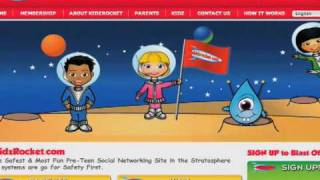 A Safe Place for Kids to Chat, Share Photos & Videos - KidzRocket Video