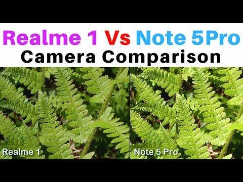 Realme 1 Vs Redmi Note 5 Pro : Camera Comparison [Live Photo & Video]