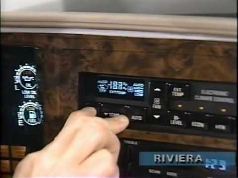 buick automatic climate control (1991) youtube
