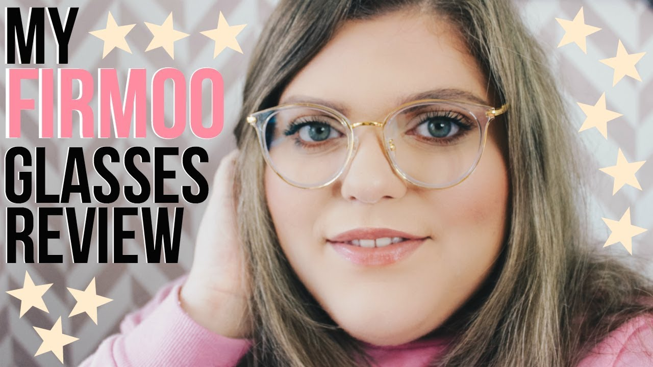 3ed0ca96452 My Firmoo Glasses Honest Review!! Try On   First Impressions!!  AD ...