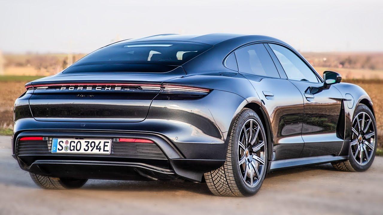 2021 Porsche Taycan RWD - Interior, Exterior, Drive (Starts at $79,900 - Vulkan Grau Metallic)
