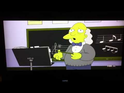 Simpsons - band directors bad day