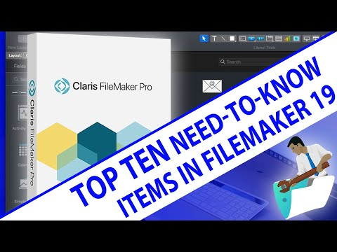 FileMaker 19 New Release - Top 10 Need To Know Items in FileMaker 19 - FileMaker Top Ten News