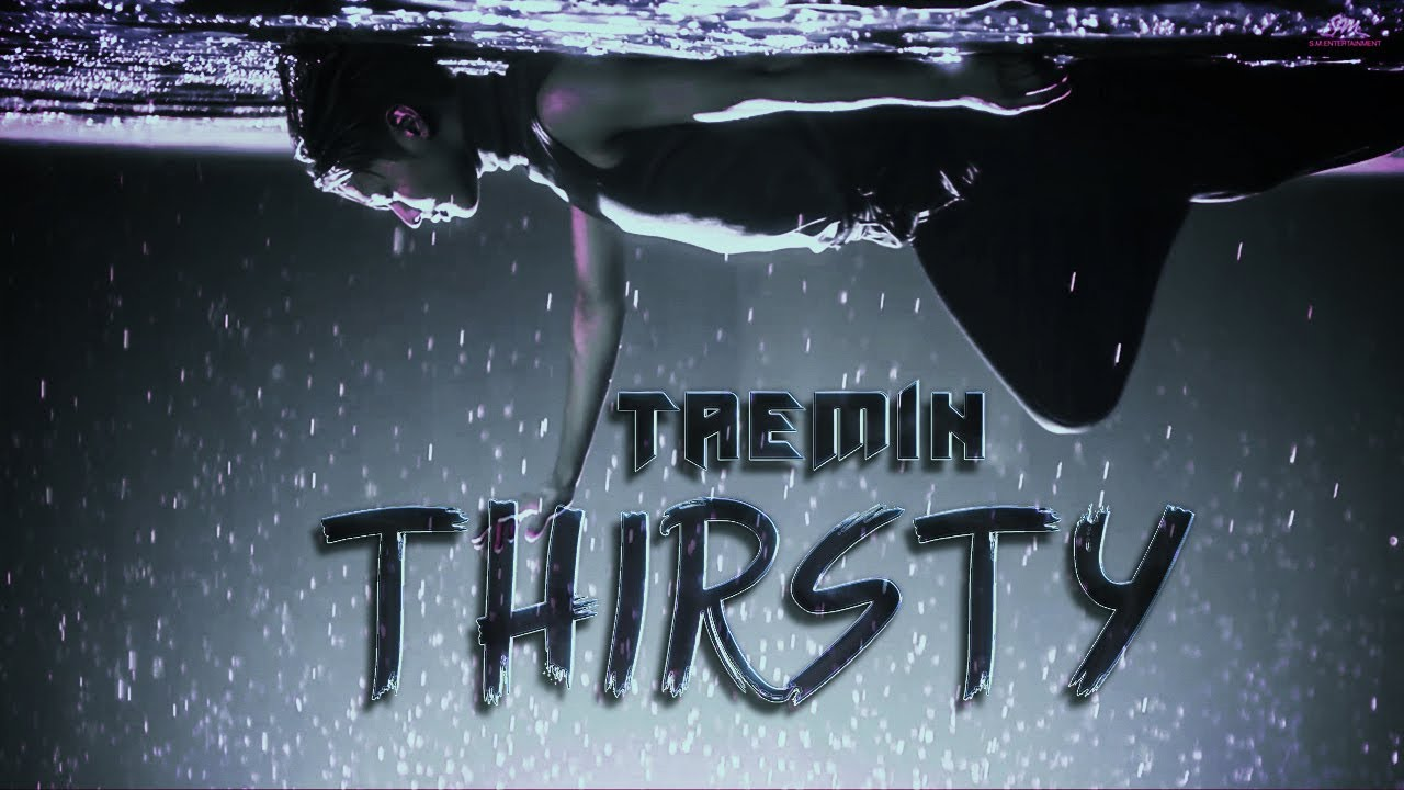 Lyrics video of the song: Taemin 태민 - Thirsty (English