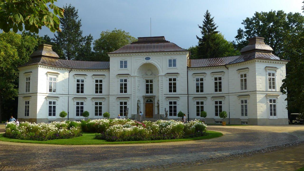 łazienki Królewskie W Warszawie Cz3 Pałac Myślewicki