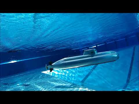 Stunning underwater footage of an amazing RC-Submarine