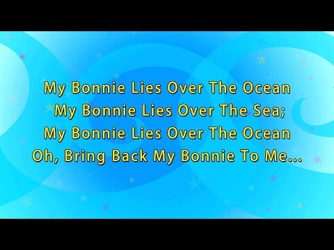Karaoke- My Bonnie lies over the ocean