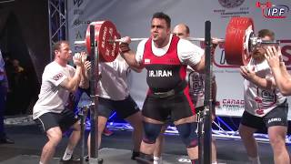 Men Open, 120+ kg - World Classic Powerlifting Championships 2018