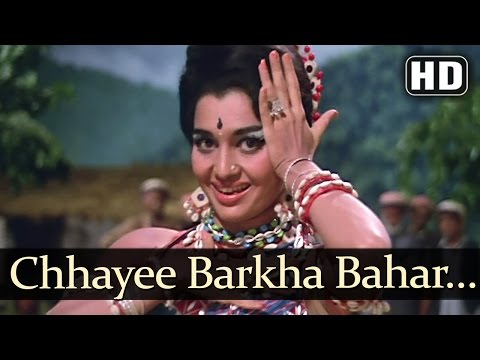 Chhaayi Barkha Bahaar - Asha Parekh - Sunil Dutt - Chirag - Old Hindi Songs - Madan Mohan