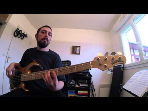 Genesis - Land Of Confusion bass cover