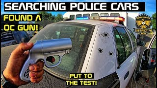 Searching Police Cars Found An OC Gun! Crown Rick Auto