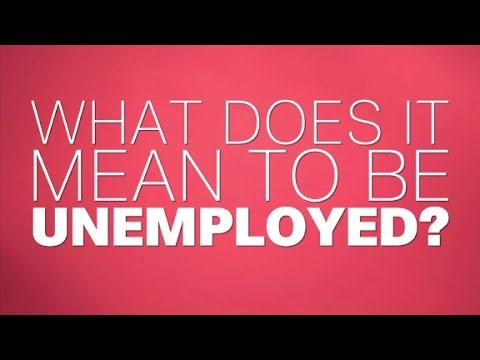 What is the 'real' unemployment rate?