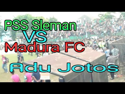 BOLA RICUH, PSS SLEMAN VS MADURA FC ADU JOTOS || SUPORTER IKUTAN