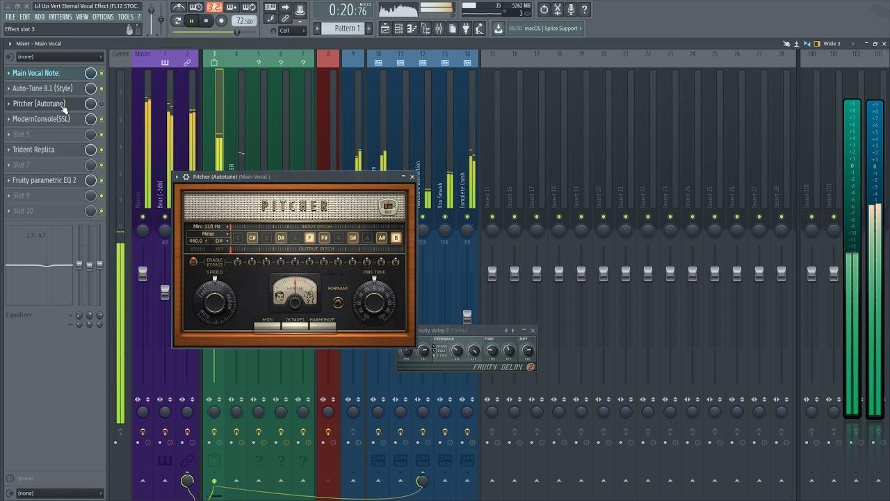 Lil Uzi Vert Eternal Vocal Effect - faraitheproducer