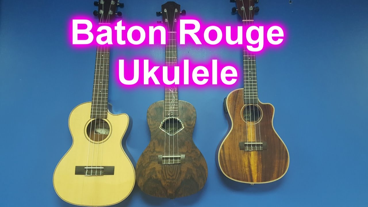 some new ukes baton rouge ukulele youtube. Black Bedroom Furniture Sets. Home Design Ideas