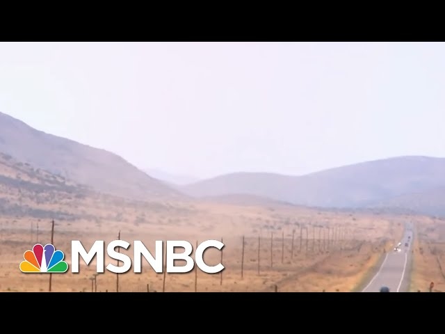 Climate Change Is A Real National Emergency   Velshi & Ruhle   MSNBC
