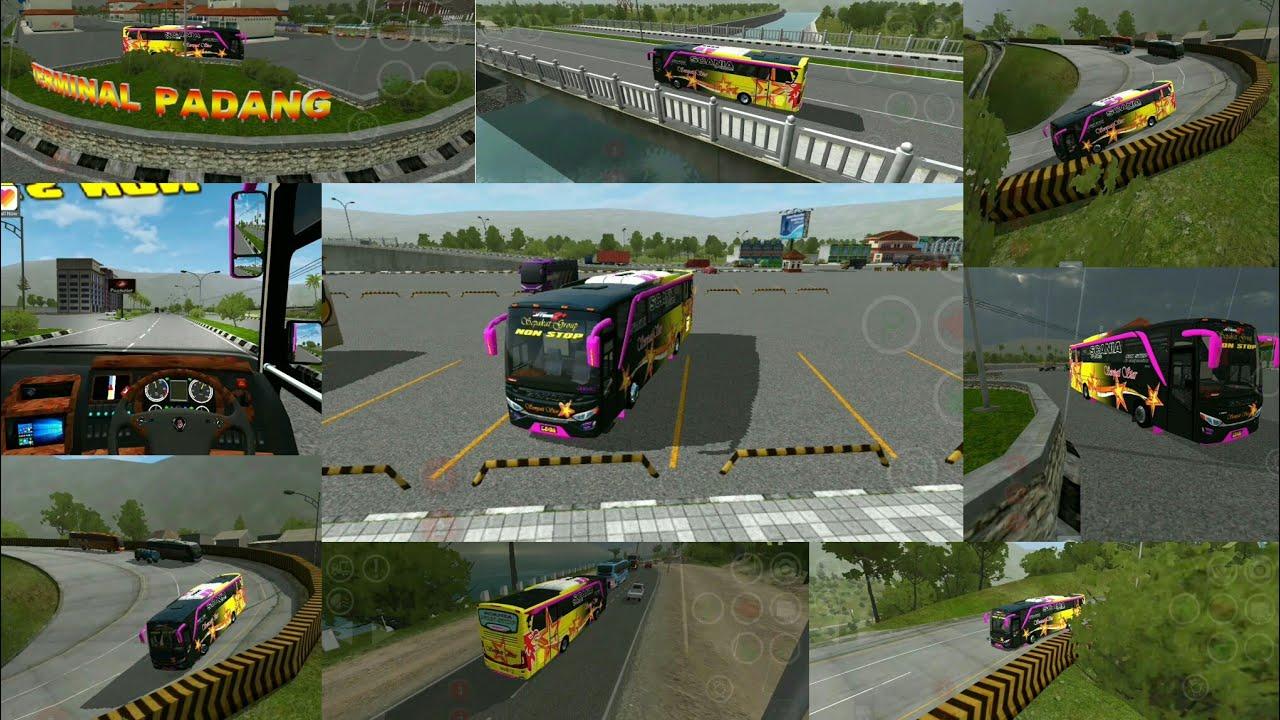 Bussid JB2 HD New Setra tourist bus mod in bus simulator indonesia